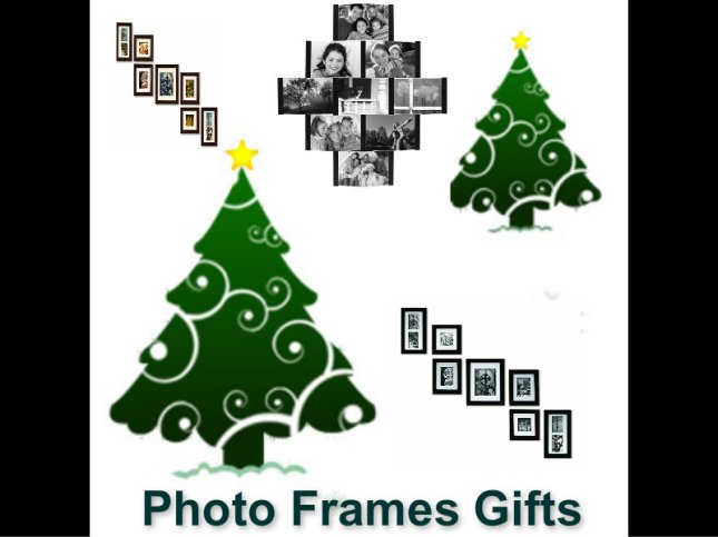 Christmas Gifts - Photo Frames
